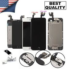 For iPhone 6S 8 6 7 Plus LCD Dispaly Touch Screen Complete Replacement + Button