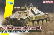 Dragon 1/35 Volkettenaufklarer 38 w/7.5cm Kanone 51 L/24 Kit #6815