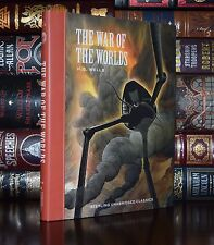War of the Worlds by H.G. Wells Unabridged Illustrated New Hardcover Gift Ed.