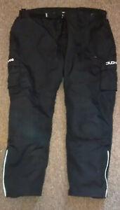 DUCHINI    textile Motorcycle Trousers       46 inch waist         size  8XL