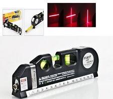 Multifunction Laser Level Aligner Horizon Vertical Cross Line Measure Tape Ruler