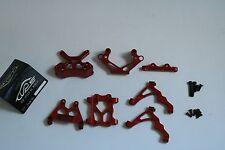 TSRC Alloy Front parts Bulkhead/Shock Tower Red fit HPI BAJA RV KM 5B 5T 5SC
