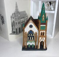 Department 56 CHRISTMAS IN THE CITY SERIES All Saints Corner Church 64646 In Box