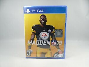Madden NFL 19 (PlayStation 4, 2018) SEALED ! FREE SHIPPING !