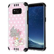 Hybrid Layer Armor Case for Samsung Galaxy S8 G950 - Cute Kitty