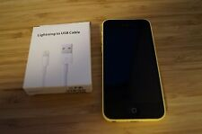 8/10 VERY GOOD COND Apple  iPhone 5c - 16GB - Yellow Smartphone AUS STOCK