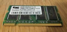 128MB ProMOS DDR1 RAM PC2700S 333 mhz CL2.5 SO-DIMM Laptop Memory