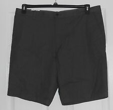 Claiborne Forged Iron (Gray) Flat Front Shorts Size 38 NWT