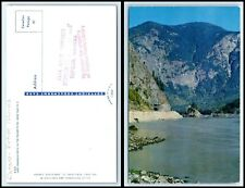 CANADA Postcard - BC, Yale, Lady Franklin Rock in the Fraser River H14