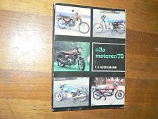 707 ALL MOTORCYCLE MODELS 1978 DUCATI 900SS,JUPITER,VOSHKOD,VAN VEEN OCR1000,N