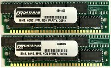 32Mb (2 X16Mb) 30pin Simm Ram Memory 16X8 For Mac Performa, Quadra, Iisi,Iicx