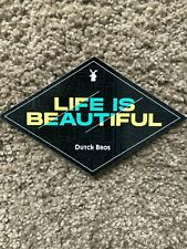 Dutch Bros Sticker - July 2019 - Life is Beautiful - stickers