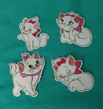 Disney Stickers - Lot of 4 - Marie from The Aristocats