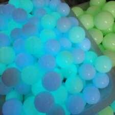 Hot Glow White Jade Stone Glow In The Dark Stone Ball + Stand