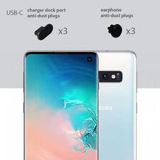 Samsung S10 Charging Cover USB-C Plug Set 3 Pack Anti Dust Silicone Cap
