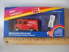 Coca-Cola Siku Eurobuilt 1980's Mercedes Step-In Van MINT in Box - W Germany