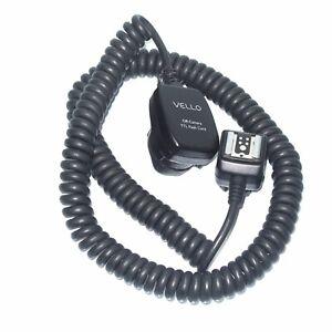 Vello Off Camera TTL Flash Cable Cord For Canon Az1211