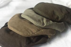 Mens Milano Waterproof Moleskin Cap Padded - Small to Large