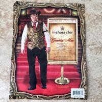 InCharacter GAMBLIN' MAN Gambler Costume - Sz XXL 2XL In Character Casino