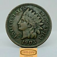 1903 Indian Head One Cent, Full Liberty -  #C20207NQ