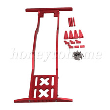 Red Aluminum Chassis Frame for AXIAL SCX10 RC4WD D90 RC1:10 Rock Crawler Car