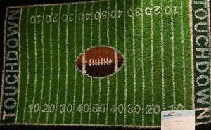 Traffic Master Football Field door mat