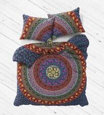 Indian Bohemian Mandala Bedding Quilt Floral Duvet Cover Queen Size ComforterSet