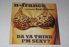 N'Trance feat Rod Stewart - Da ya think I'm sexy - cd single 2 titres 1997