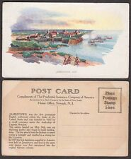 Old Prudential Insurance Company Advertising Postcard - Jamestown