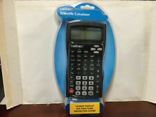 Caliber Scientific Calculator 10-Digit Display 229 Functions Protective Cover