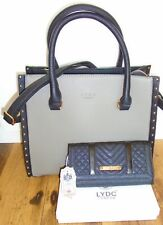 LYDC London Designer Bag and LYDC Purse with Gift Box - Gift Idea