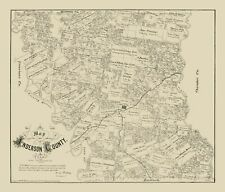 Anderson County Texas - Walsh 1879 - 23.00 x 26.91