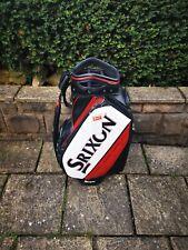 Srixon Tour Staff Cart Bag 5-Way Red/ White/ Black New