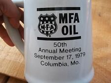 Vintage ?? Used MFA Oil 50th Annual Meeting 1979 Columbia MO Mug