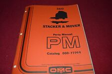 Owatonna 560 Stacker & Mover Dealers Parts Manual RWPA