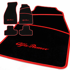 ALFA ROMEO GTV (1996 to 2006) Fully Tailored Car Mats + ALFA ROMEO LOGO