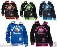 "BOY/GIRL'S ""OFFICIAL SPORTING"" HOODED/HOODY ZIPPER TOP 3 4 5 6 7 8 9 10 11 12YRS"