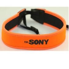 Wide Neck Strap Orange For Sony A6000 H200 H300 H400 HX400 RX1 RX100 A77II A77