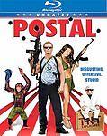 Postal (Blu-ray Disc, 2008, Unrated) New 16x9 Vivendi Entertainmeny Uwe Boll Ver