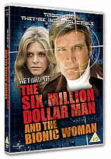 Return Of The Six Million Dollar Man And The Bionic Woman (DVD, 2010)