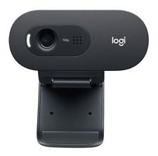 Original Logitech Computerzubehör Schwarz 960-001372 C505e HD Webcam