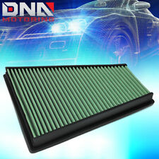 FOR 2006-2015 FORD GALAXY II/VOLVO V70 III GREEN WASHABLE DROP IN AIR FILTER