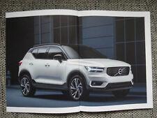Volvo XC40 Prospekt 2017 Brochure Deutsch German