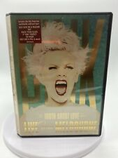 Pink- The Truth About Love Tour: LIVE From Melbourne DVD *LIKE NEW*