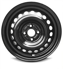 "New (12-14) Honda Insight 15"" x 6"" 4 Lug Black Replacement Steel Wheel Rim 4x100"