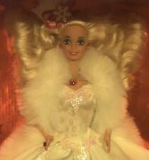 1989 Happy Holidays Barbie doll NRFB Christmas Holiday