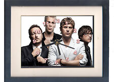 Matchbox Twenty. Celebrity framed print and clock. Music memorabilia.