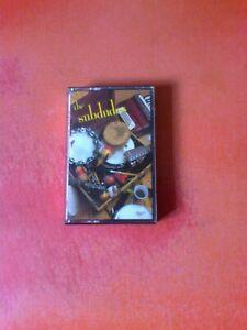 THE SUBDUDES Self Titled Same 1989 Cassette Tape Album!