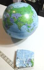 Globe Ball Fairly Accurate Planet Earth Inflatable Ball All Countries World Map