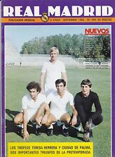 REAL MADRID SETTEMBRE 1980 Magazine
